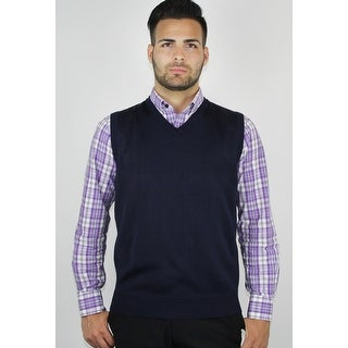 Men's Solid Sweater Vest (More options available)