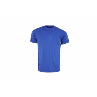 Mens Athletic All Sport Training Tee Shirts Hyper Dry Blue FSB