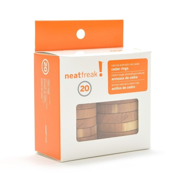 NeatFreak® 20 - Pack of Cedar Rings