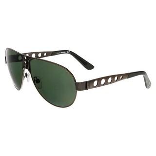 Diesel DL0092 38N Bronze Aviator Sunglasses - 63-10-140
