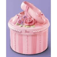 A Time to Dance Classics June Ballerina Trinket Box by Russ Berrie