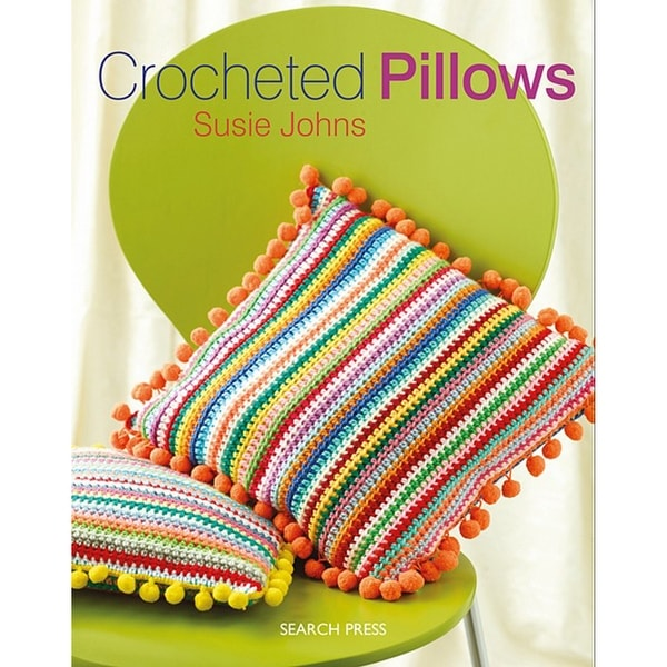 Search Press Books-Crocheted Pillows
