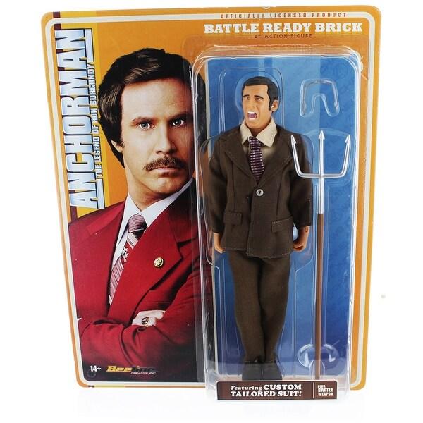 Anchorman 8-Inch Action Figure: Battle Ready Brick - multi