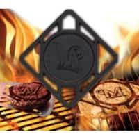 Milwaukee Brewers Pangea BBQ Meat Brander  MLB Team Logo