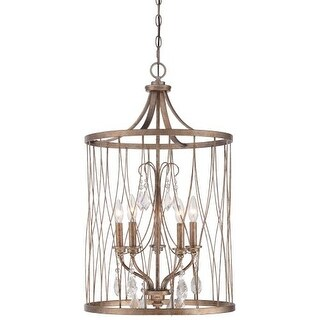 Minka Lavery 4405-581 5 Light Full Sized Pendant from the West Liberty Collection