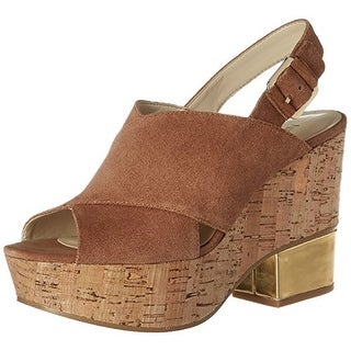 Nine West Women's Imena Suede Heeled Sandal