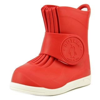 Butler Emperor Youth Round Toe Synthetic Red Rain Boot