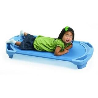 Angeles AFB5731WW SpaceLine Toddler Cot, Wedgewood Blue