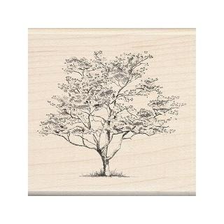 Inkadinkado Wood Stamp Small Dogwood