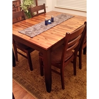 Acacia 5 Foot Solid Wood Dining Table By Greyson Living