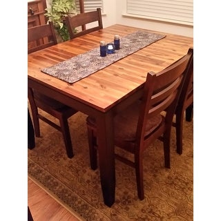 greyson living acacia foot solid wood dining table  free, Dining tables