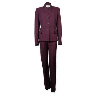 Le Suit Women's Pleated Crepe Vienna Pant Suit|https://ak1.ostkcdn.com/images/products/is/images/direct/cca08c3329230eae69314da792f3123d236d9d26/Le-Suit-Women%27s-Pleated-Crepe-Vienna-Pant-Suit.jpg?impolicy=medium