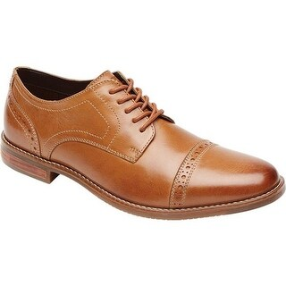 Rockport Men's Style Purpose Cap Toe Oxford Tan Leather