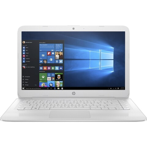HP Stream Laptop PC 14-AX022NR 4GB RAM, 32GB eMMC, Snow White
