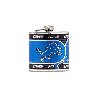 Great American Products Detroit Lions Flask Stainless Steel 6 oz. Flask