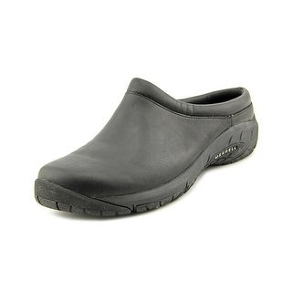 Merrell Encore Nova 2 Round Toe Leather Mules