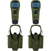 Thermacell Repeller & Holster Kit (2-Pack) (Olive) - Green