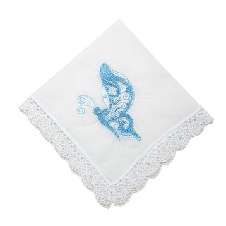 Forever Butterfly Handkerchief