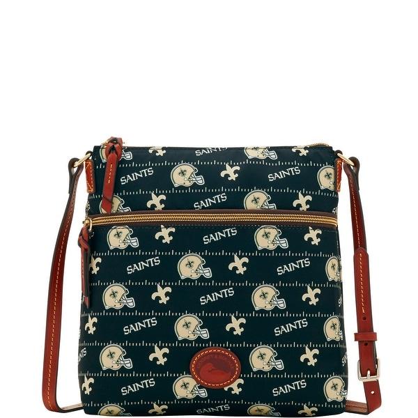 c35b6128c1 Dooney  amp  Bourke NFL New Orleans Saints Crossbody Shoulder Bag  (Introduced by Dooney  amp