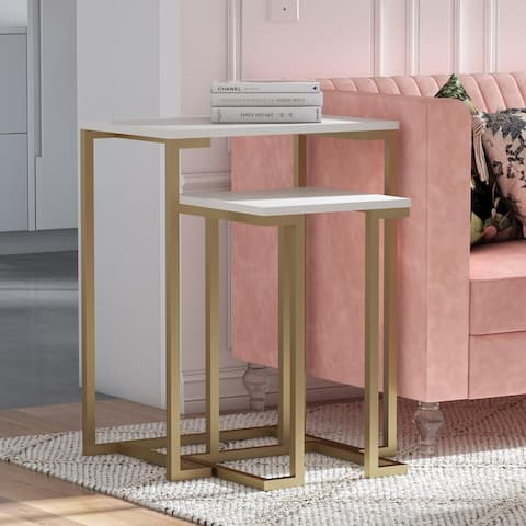 CosmoLiving by Cosmopolitan Camila Nesting Tables/Laptop Desk