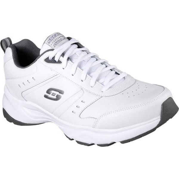 54b64007576c Shop Skechers Men s Haniger Training Sneaker White Charcoal - On ...