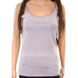 Pact Apparel NEW Heather Gray Womens Size Medium M Built-In Bra Cami Top 397
