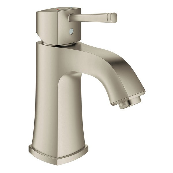 Grohe 23 312 A Grandera 1.2 GPM Bathroom Faucet Single Handle Single Hole with SilkMove Cartridge Less Drain Assembly