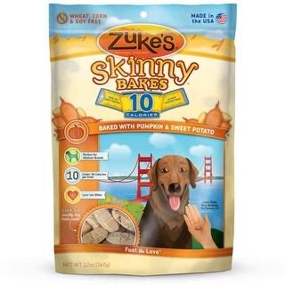 Zuke's Skinny Bakes 10's Pumpkin and Sweet Potato 12 oz.
