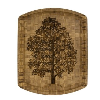 Totally Bamboo Family Tree Carving Board