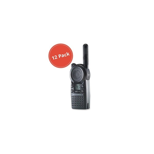 Motorola CLS1410 (12-Pack) 2-Way Radio / 5 Mile Range