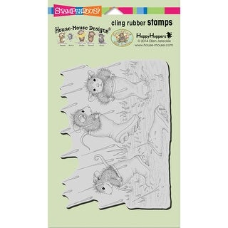 Stampendous House Mouse Cling Stamp -Puddle Jumpers