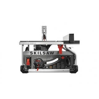 """Skilsaw SPT70WT-22 Portable Worm Drive Table Saw with Diablo Blade, 10"""", 15 Amp"""
