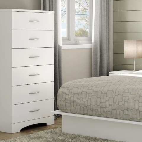 South Shore Step One 6-drawer lingerie chest