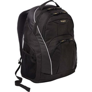 """""""Targus TSB194US Targus TSB194US Carrying Case (Backpack) for 16"""" Notebook - Black, Gray - Water Proof - Poly Oxford"""""""