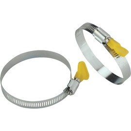 Camco 2Pk Rv Sewer Hose Clamps