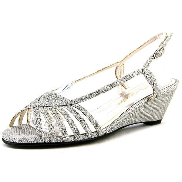 Caparros Tango   Open Toe Synthetic  Wedge Heel