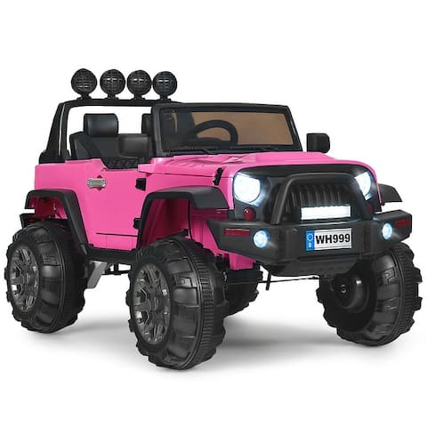 Kids 12V Ride On Truck with Remote Control