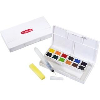 Derwent Inktense Paint Pan Travel Set-Assorted Colors
