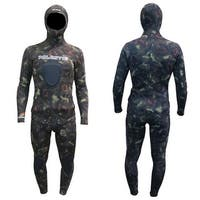 Palantic Spearfishing 7mm Neoprene Camouflage Stretch Max Farmer John Wetsuit