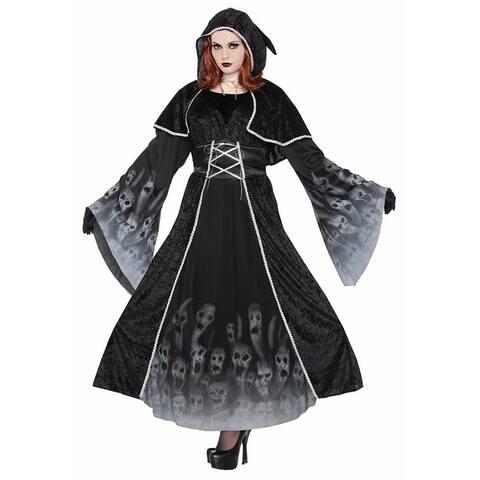 Forsaken Souls Costume Adult Women - Black