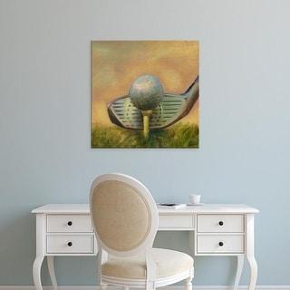 Easy Art Prints Ethan Harper's 'The Tee' Premium Canvas Art