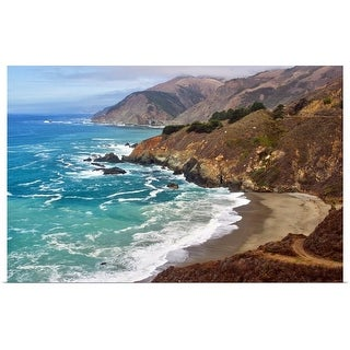 """California coast"" Poster Print"