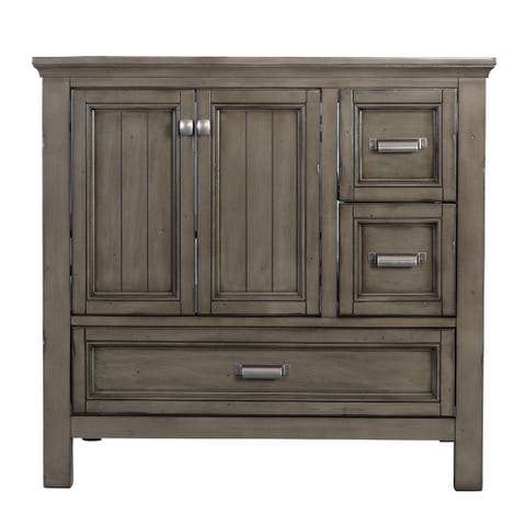"Foremost BAV3622D Brantley 34"" H x 36"" W Wood Vanity Cabinet Only"