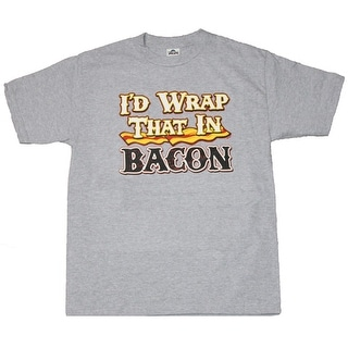 Id Wrap That In Bacon Graphic T-shirt