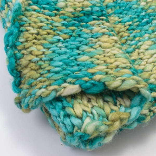Cottage Home Maddison Wool Acrylic Blend Throw Blanket. Opens flyout.