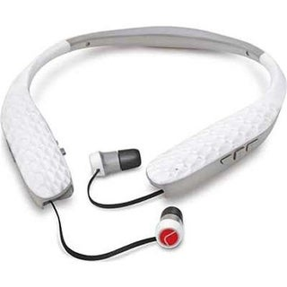 Earbud Headset with Tv Adapter BNDL, White