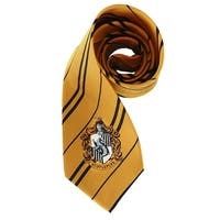 Harry Potter House Hufflepuff Kid and Adult Costume Necktie - Yellow