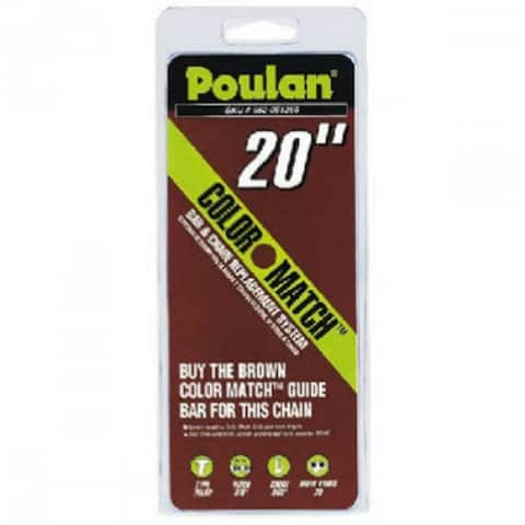 """Poulan 051310 Replacement Chain With Low Kick Back, 20"""""""