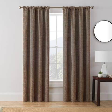 Brookstone Troy 100-Percent Blackout Window Curtain Panel