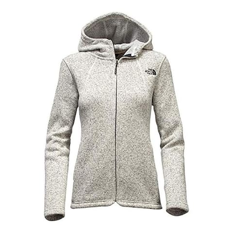 The North Face Women's Crescent Full Zip Hoodie Vint/White